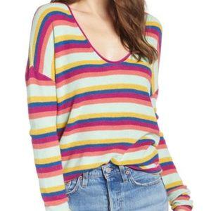 3/$25🛍️ BP. Stripe Thermal Stitch Sweater